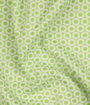 jacquard-green-white-circles